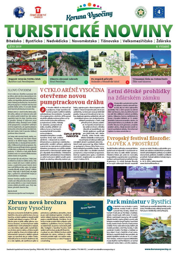 2019 - léto - Turistické noviny